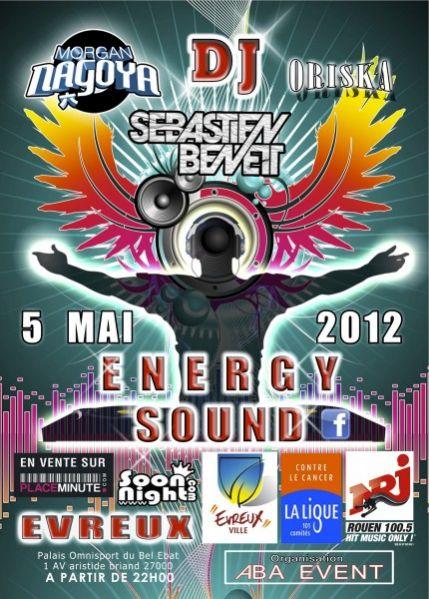 ENERGY SOUND avec Morgan Nagoya, Sebastien Benett et Oriska !