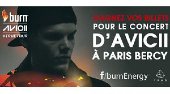 Gagnez vos billets pour le concert d�<strong>avicii</strong> &agrave; Paris Bercy, le 14 f&eacute;vrier 2014