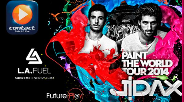 Paint The World Tour 2014 By JIDAX