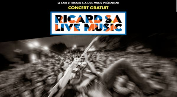 Fête de la Musique - concert Ricard S.A. Live Music / fair