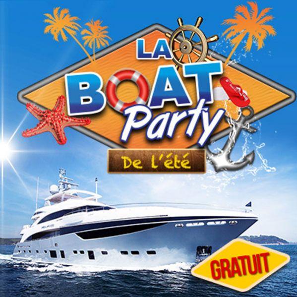 La Boat <strong>party</strong> de l&#039;&eacute;t&eacute; au Concorde Atlantique ce samedi - tables &agrave; gagner !