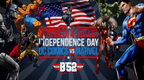 Independance Day au B'52 ce Vendredi 4 Juillet !
