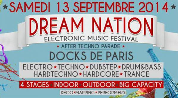 Départs en car depuis ta ville pour le festival Dream Nation le Samedi 13 Septembre à Paris !