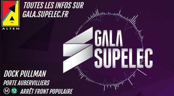 5x2 places &agrave; <strong>gagner</strong> pour le Gala Supelec ! 2&egrave;me &eacute;v&eacute;nement &eacute;tudiant de France.