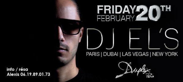DJ EL's au Duplex ce vendredi !