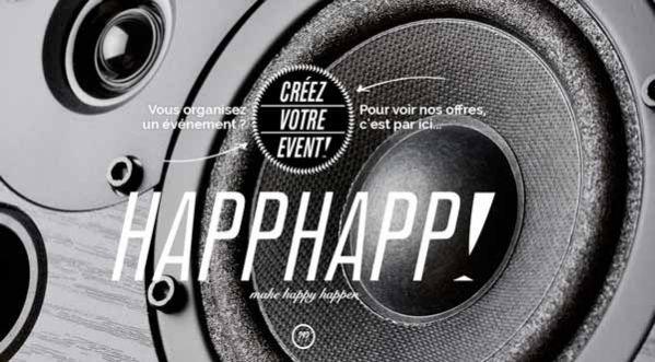 Happhapp , le site qui permet aux parisiens de booker en <strong>ligne</strong> la LUNE comme lieu pour leurs �v�nements!