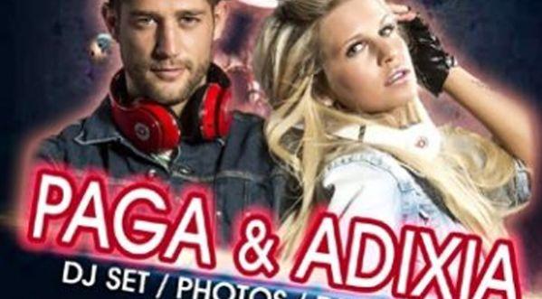 Paga & Adixia en Mix Live au C�sar le 28 Mars