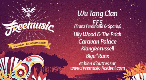 A <strong>gagner</strong> 2 places pour le Free Music Festival les 19 &amp; 20 juin au Lac de Montendre !