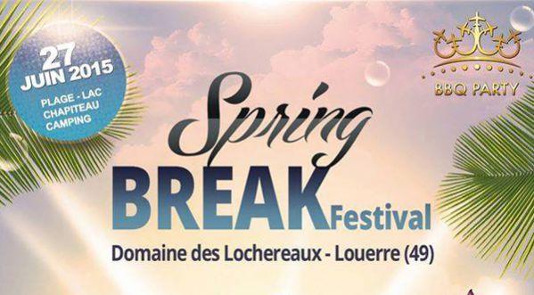 Gagnez 10x2 places pour le Spring Break Festival BBQ Party Samedi 27 juin au Domaine des Lochereaux !