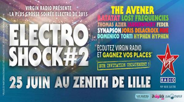 Electroshock #2 investit le Zenith de <strong>lille</strong>