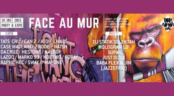 Soir&eacute;e Vernissage &quot;<strong>face</strong> au Mur&quot; &agrave; la Caserne de Reuilly le 19 Juin