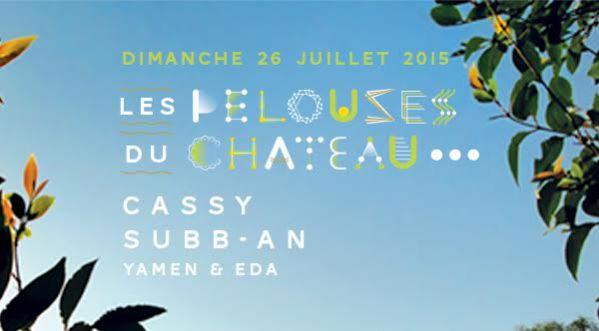 Gagnez 2x2 places pour l�open air Les Pelouses du Ch&acirc;teau le 26 juillet &agrave; <strong>montpellier</strong> !