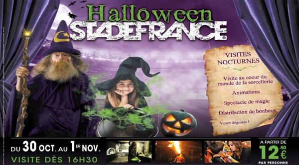 Halloween revient dans les <strong>coulisses</strong> du Stade de France !