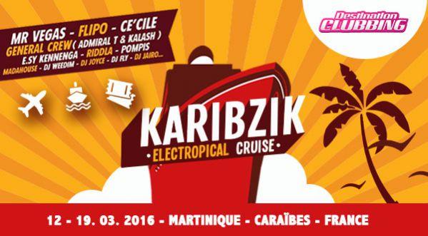 Karikzik Electropical, une semaine festive en Martinique!
