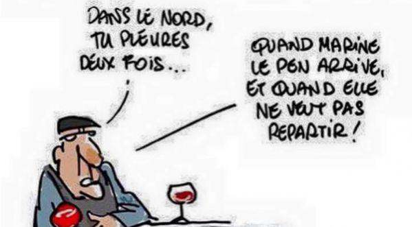 Alcooliques, chômeurs, consanguins mais pas lepénistes !