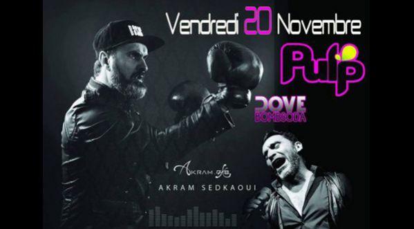 Dove & Akram en Live au Pulp le 20 Novembre
