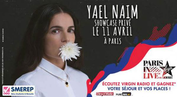 Paris In Live : Ya&euml;l Na&iuml;m le 11 <strong>avril</strong>!