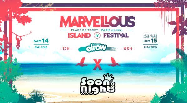 Concours : 5 x 2 places &agrave; <strong>gagner</strong> pour le festival Marvellous Island !
