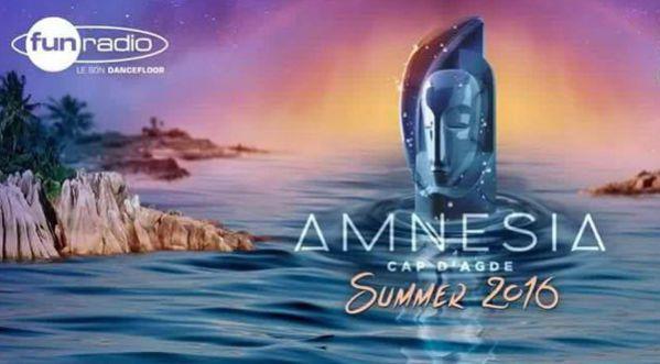 AMNESIA SUMMER 2016 - L'incroyable Line-Up enfin dévoilé