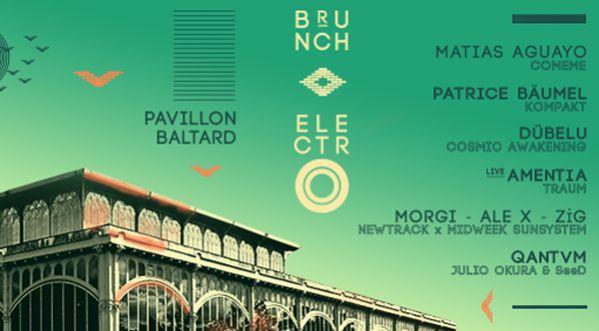 Concours : Gagne tes places pour le Brunch Electro au Pavillon Baltard le samedi 9 juillet