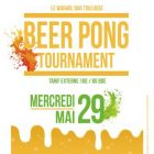 Soir�e Warhol bar Tournoi de beer pong