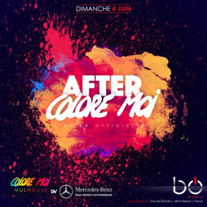 Soirée Best of After colore moi