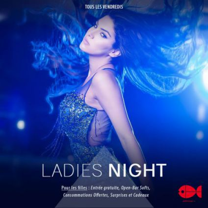 Soirée Poisson rouge club Ladies night