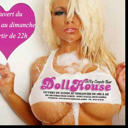 Soirée Dollhouse night bar aleri  bar le dollhouse aleria