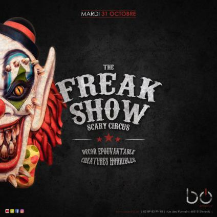 Soirée Best of The freakshow - scary circus - halloween
