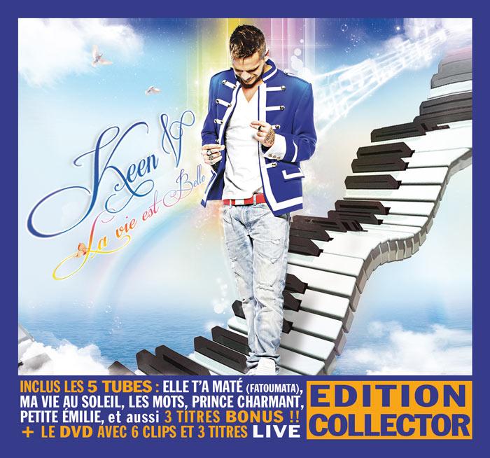 "Où acheter ""La vie est belle"" ? (greatsong, FNAC, Cdiscount) Cover-Keen'V---La-vie-est-belle-(Edition-Collector)-BD"