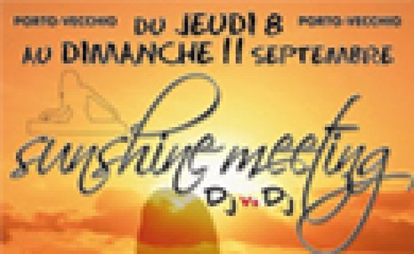 Sunshine Meeting @ Les Beaux Arts Bar Du 08 Au 11 Septembre