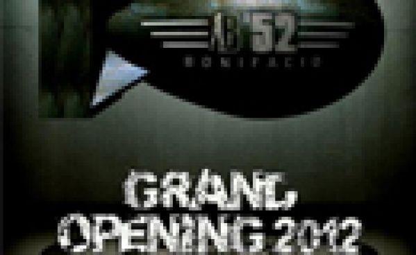 Le 16 mai 2012; Grand Opening B'52 Bonifacio