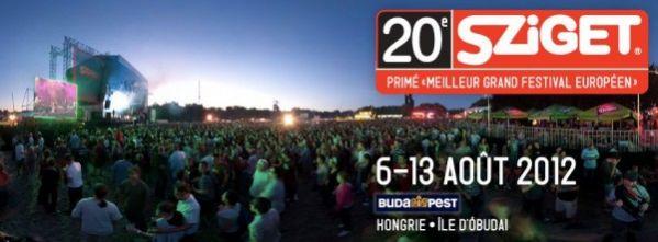 La 20ème édition Du Sziget Festival Du 6 Au 13 Août !