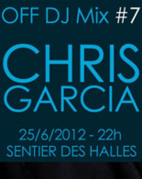 Assistez gratuitement au live de Chris Garcia !