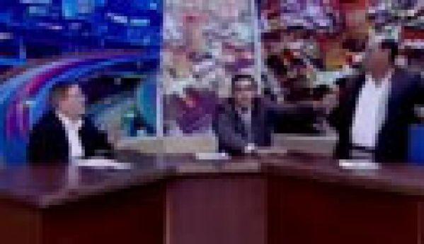 Un député jordanien sort une arme en plein débat TV