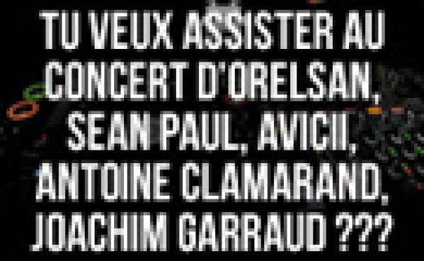 Gagne tes places pour un concert UNIQUE !!!