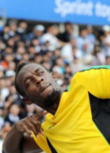 Usain Bolt le roi du 100m