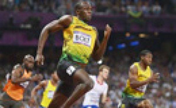 Le 200 mètre d'Usain Bolt