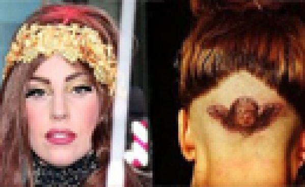 Lady Gaga: son nouveau tatouage sur le crâne qui fait jaser!