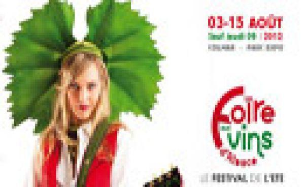 Grand cru 2012 pour la Foire aux Vins de Colmar