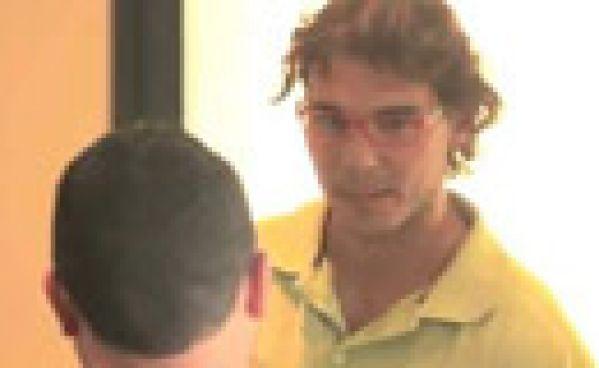 Rafael Nadal en caméra caché