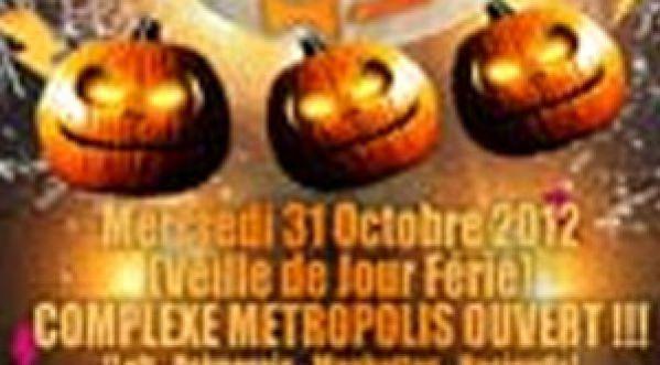 Halloween au Loft Metropolis mercredi 31 octobre 2012