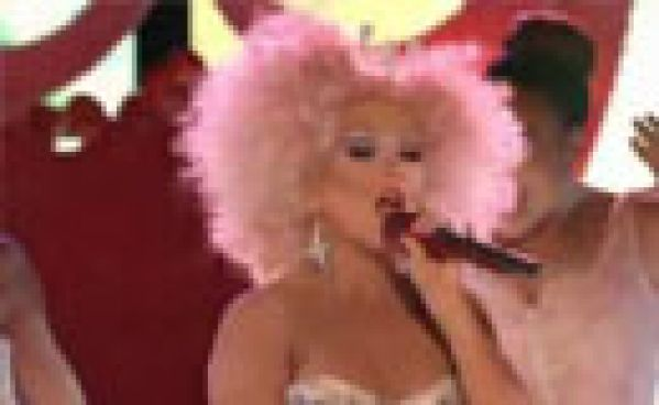 Chistina Aguilera fait le show sur le plateau de The Voice !