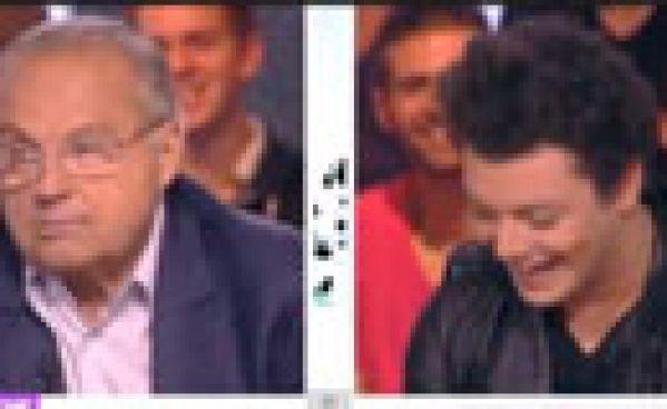 Kev Adams et Gérard Louvin s'insultent dans Touche Pas à Mon Poste