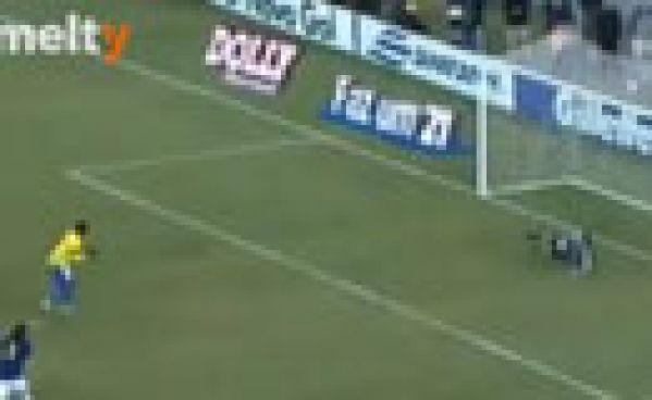 Le penalty raté de Neymar