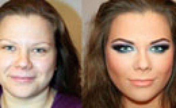 Avant/après : la magie du maquillage