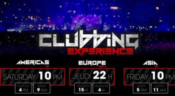Clubbing Experience @ Sensation Innersapce Jeudi 29 Nov à 22h sur Clubbing TV !