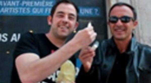 Olivier Bourg piège Morandini et Nikos Aliagas pour Entrevue !