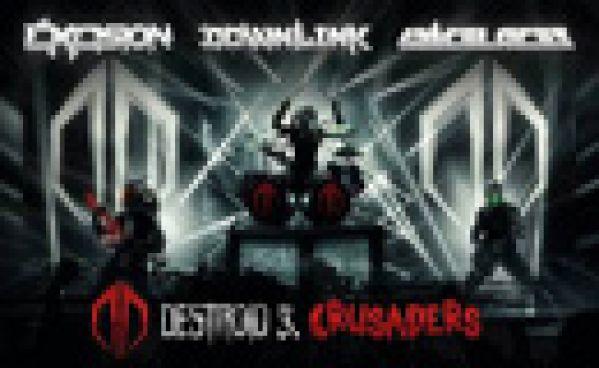 DESTROID (Excision, Downlink, KJ Sawka) sort 'Crusaders'