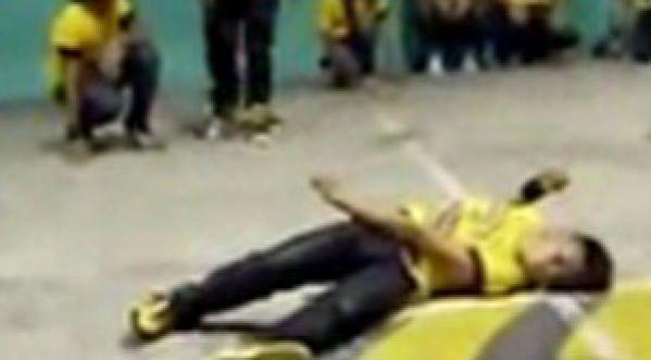 Un danseur chute et se retrouve paralysé